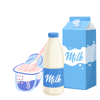 Professional dairy products