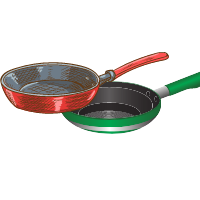 Professional frypans