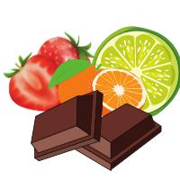 Ciocolata aromata / colorata dropsuri