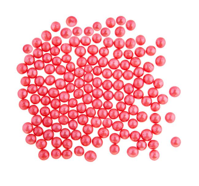 Perle din zahar rosu-deschis 4 mm 1.2 kg 099461 BARB