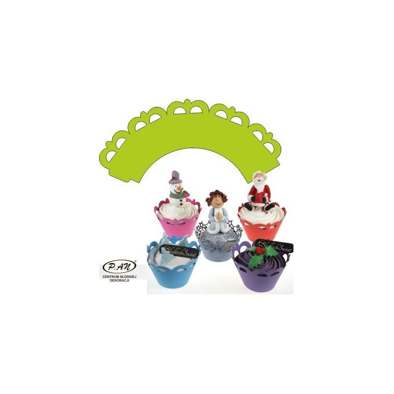 Decoratii pentru cupcake OW301,302,303,304 25 buc Economic