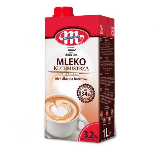 Lapte UHT 3,2%  not only for barista 1L MLK