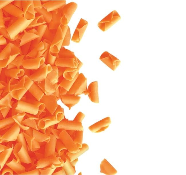 Decoratiuni din ciocolata orange 1kg 3325531 BARB