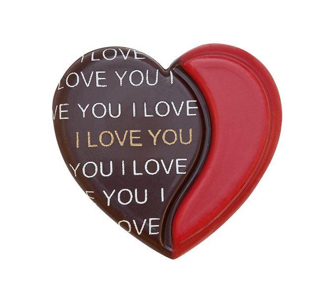 Decoratiuni din ciocolata I LOVE YOU 3D set 240 buc  0,72kg 33899 BARB