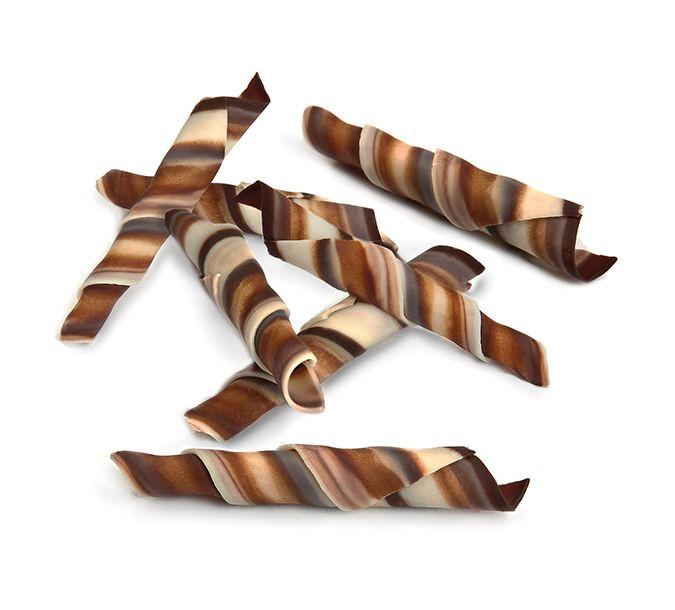 Decoratiuni din ciocolata Twister marble 1 kg 334594 BARB