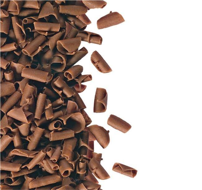 Decoratiuni fulgi din ciocolata cu lapte 1kg 3394871 BARB