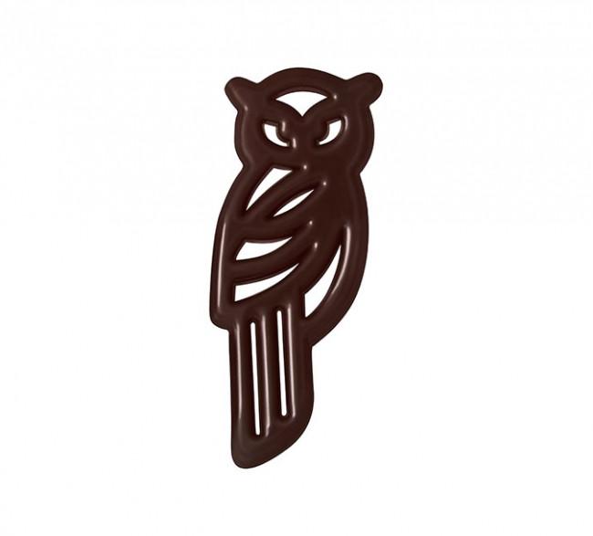 Decoratiuni din ciocolata FILIGRANES BUFNITA 270 buc. 0,580 kg 33110 BARB
