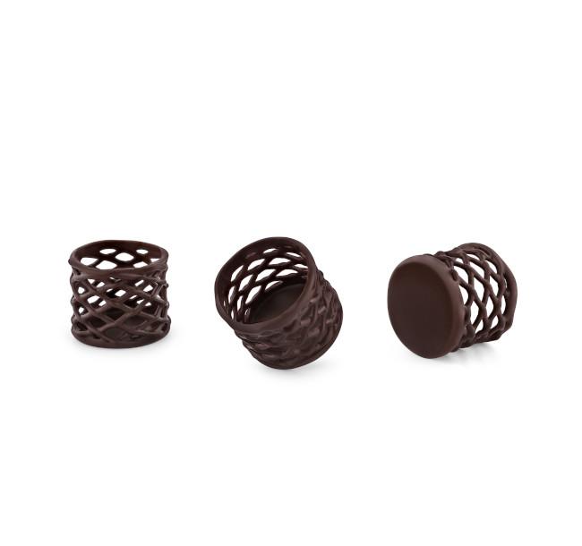 Decoratiuni din ciocolata Grillage Cup 30/30 30308 0,554 kg BARB