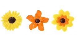 Decoratiuni din ciocolata FLOWERS SET 252 buc 33994 0.468 kg BARB