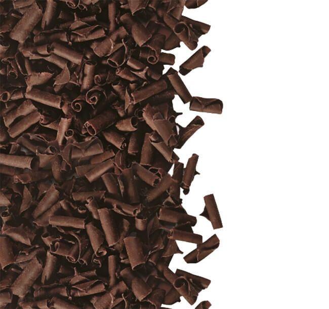 Decoratiuni din ciocolata  Blossoms DARK 1kg 3325301 BARB