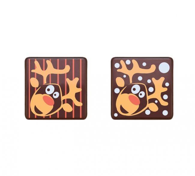 Decoratiuni din ciocolata REINDEER 210 buc.set  0,648 kg 33928 BARB