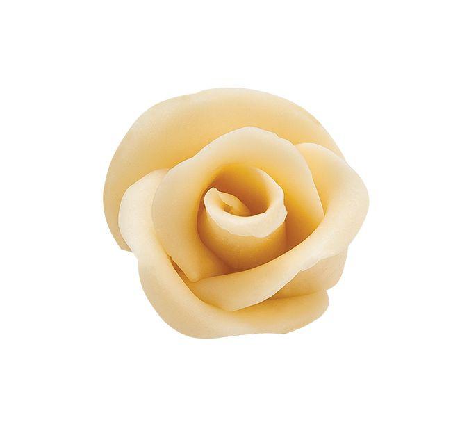 Decoratiuni de ciocolata Rose XL -ALBA 3 buc.95 mm 0,210 kg 339363  BARB
