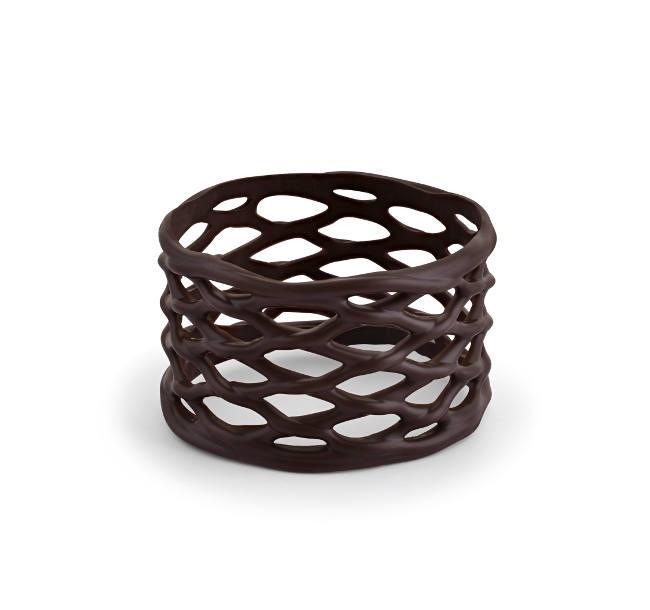 Decoratiuni din ciocolata BRACELET DARK 30/45 100buc 0.6KG 30457 BARB