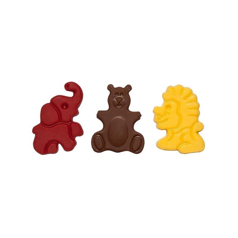 Decoratiuni din ciocolata Zoo 270 buc 0,39 kg  33845 BARB