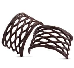 Decoratiuni din ciocolata ARCH DARK  56buc 0.310KG 31457 BARB