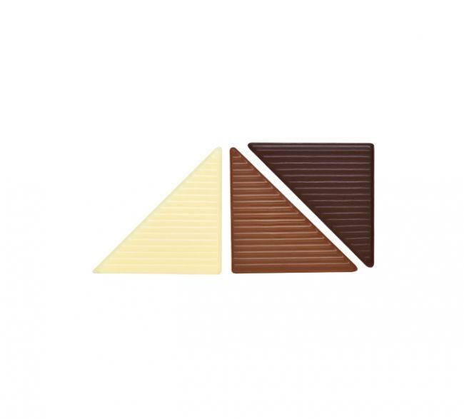 Decoratiuni din ciocolata Mozaica 288 buc.0,6 kg 33927 BARB