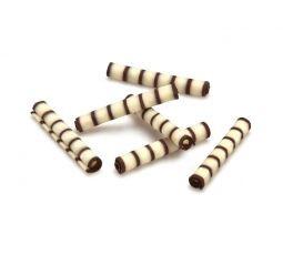 Decoratiuni din ciocolata ROLLS PENNE  1,2kg 334579 BARB