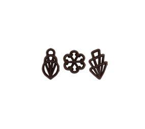 Decoratiuni din ciocolata MELA 300 buc.0,360 kg  33122  BARB