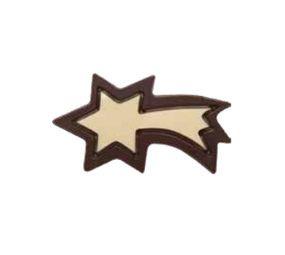 Decoratiuni de ciocolata alba FALLING STAR 3D 264 buc 0,660 kg 33818 BARB