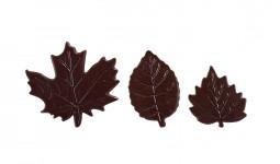 Decoratiuni din ciocolata DARK LEAVES SET 33992 0.372 KG BARB