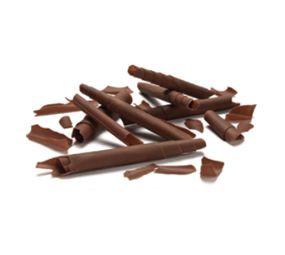 Decoratiuni din ciocolata de lapte SHAVINGS 2,5kg 3325613  BARB