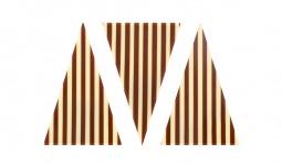 Decoratiuni de ciocolata Triangle Linea 450buc 1.05 kg 331027 BARB