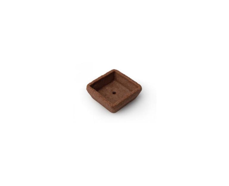 Coji de tarta patrate MIGNON  CACAO 1037  200 BUC ORMA