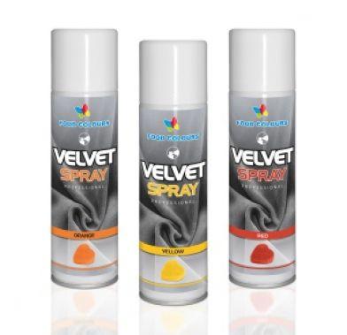 Colorant spray alimentar 250ml VELVET Oranj V05 FC