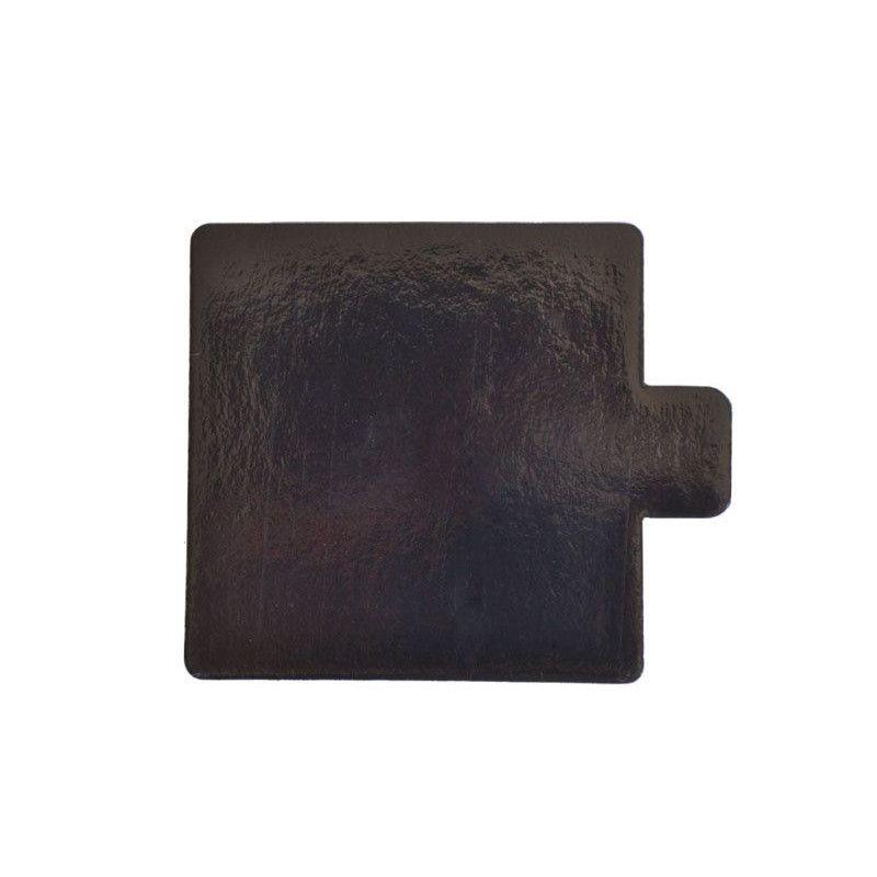 Platouri auriu/negru dreptunghiular din carton 9,x5,5 cm 200 buc  3CA2390551N_BND