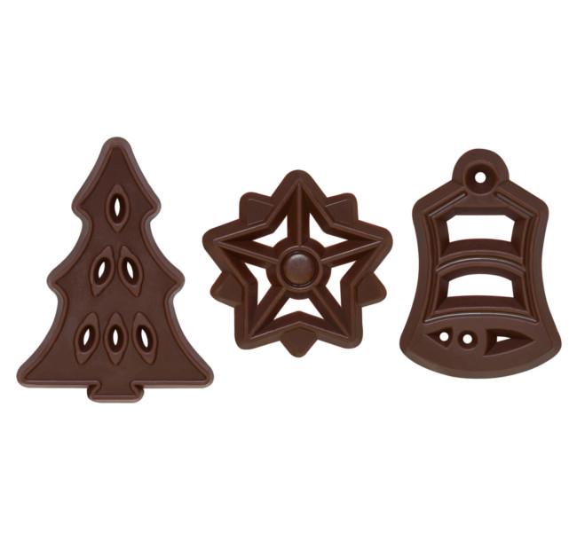 Decoratiuni din ciocolata SET FILIGRANES DE CRACIUN 300 buc.0,41kg 336406 BARB