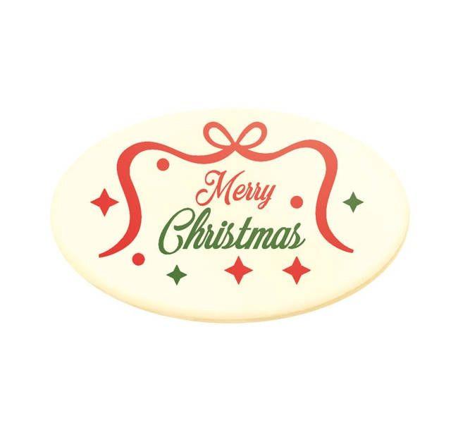 Decoratiuni din ciocolata LOGO MERRY CHRISTMAS 0.78 kg 33938 BARB