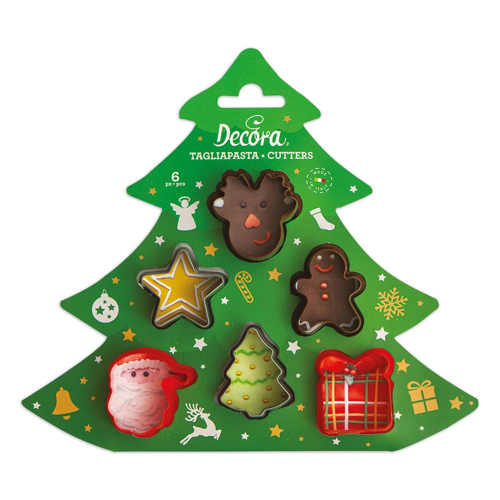 Decupatoare CHRISTMAS MINI set din 6 buc. 0255097 DER