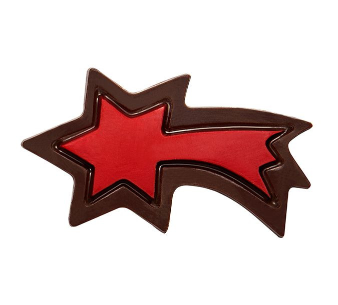Decoratiuni din ciocolata FALING STAR RED 3D 264 buc. 0,66KG 33819 BARB