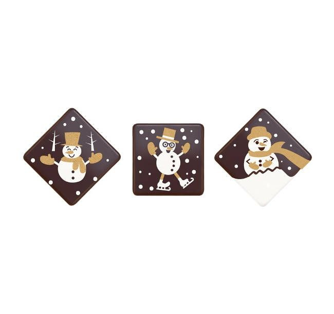 Decoratiuni din ciocolata OM DE ZAPADA 0.648kg 33935 BARB