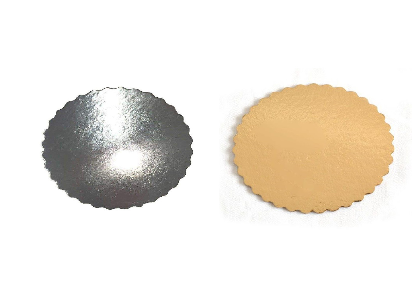 Platou auriu/negru crestat din carton  D 38 cm  3CA230038N_BND