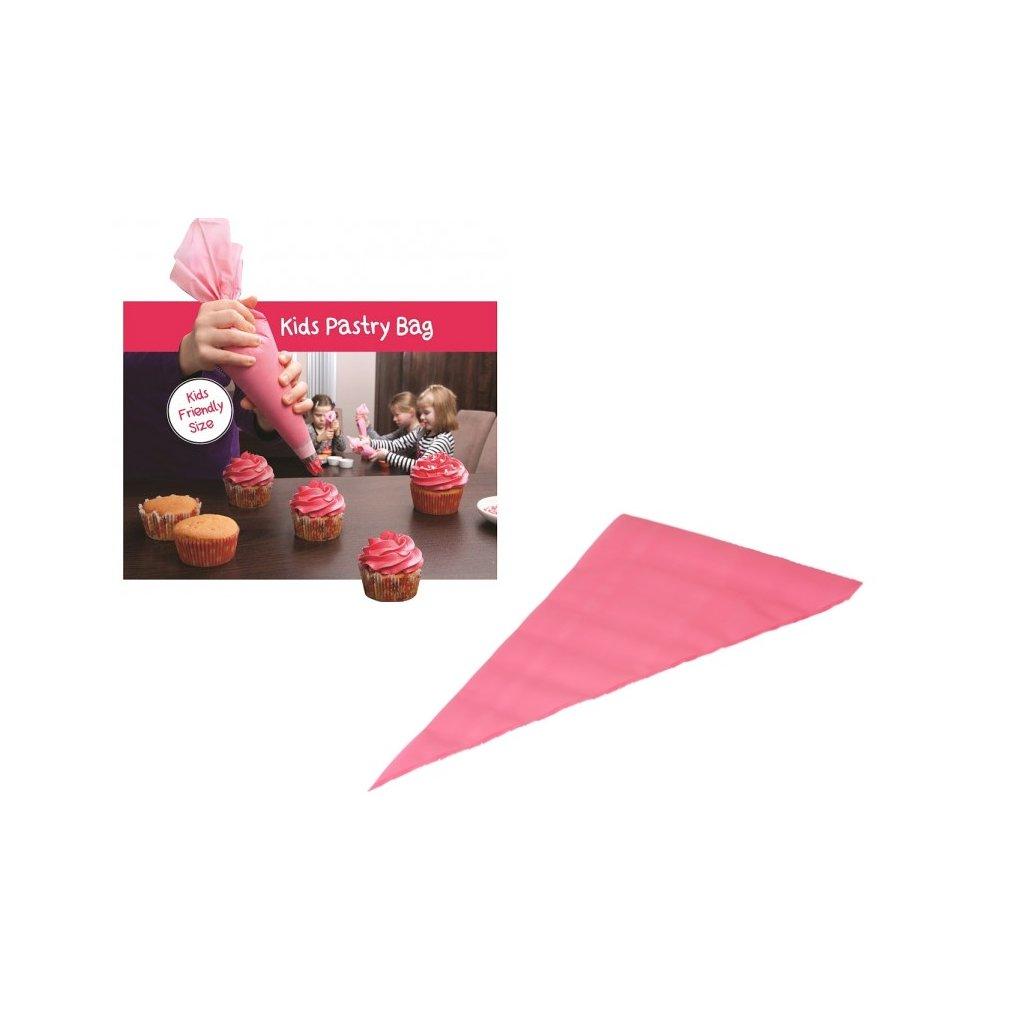 Punga pentru cofetarie u/f KIDS PASTRY BAG PREMIUM ROZ 30*17 cm 10buc/roll 8017 OW