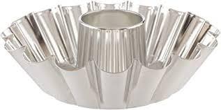 Tava de copt rotunda 250 mm cu tub 162-47/1 SNB