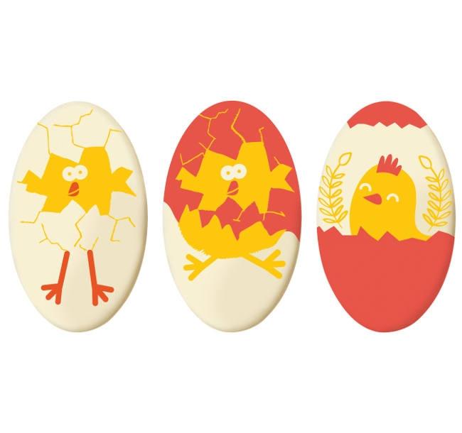 Decoratiuni din ciocolata Easter Trio Set 33940 0.390 kg BARB