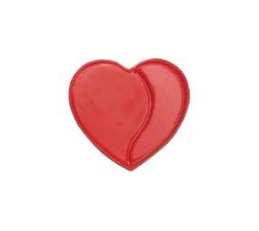 Decoratiuni din ciocolata Read Heart 3D 338461 0,120 kg BARB