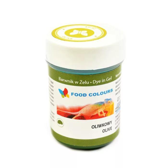 Colorant alimentar in gel  verde olive 35g WSG-058 FC
