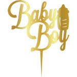 Topper - Baby Boy/aur 165*165mm 14009 CSL