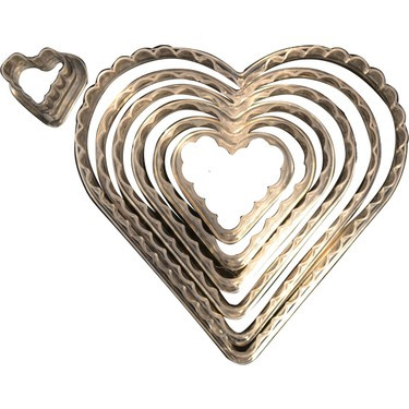 Set decupatoare inima/florata 56004 CSL