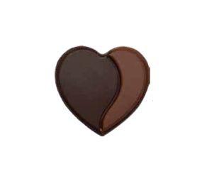 Decoratiuni din ciocolata Duo Heart 3D 0,120kg 338291 BARB