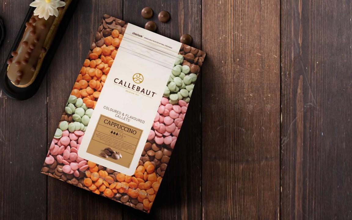 Ciocolata cu lapte cu aroma cappuccino 30,8% cacao 2,5kg Callebaut