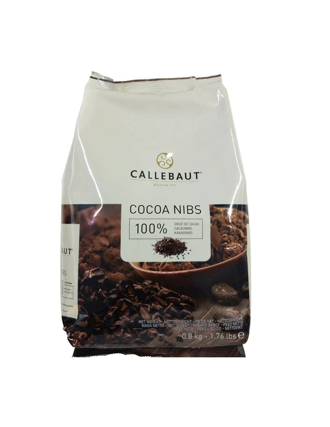 Bucati de cacao - NIBS 0,8kg Callebaut