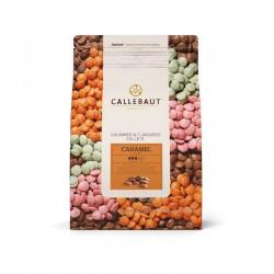 Ciocolata cu lapte cu aroma de caramel 32,6% cacao 2,5kg Callebaut