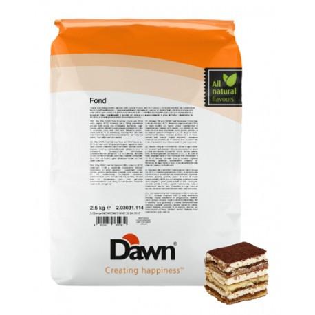 Fond Tiramisu 2,5kg DAWN