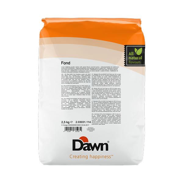 Fond capsuni 2,5kg DAWN