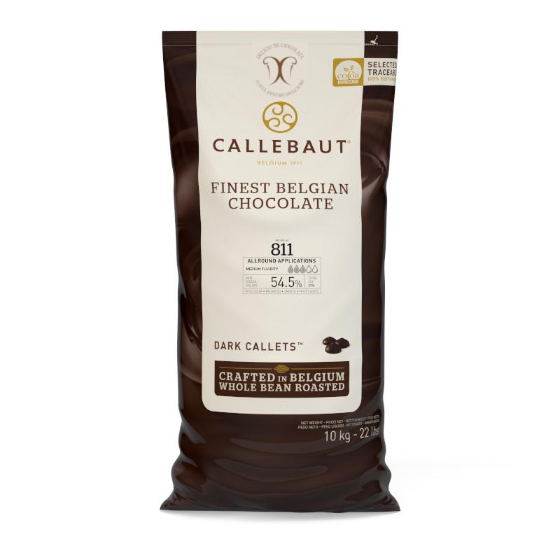 Ciocolata neagra 54.5% cacao 10 kg  Callebaut