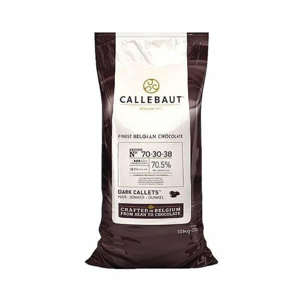 Ciocolata neagra 70,5% 10 kg Callebaut